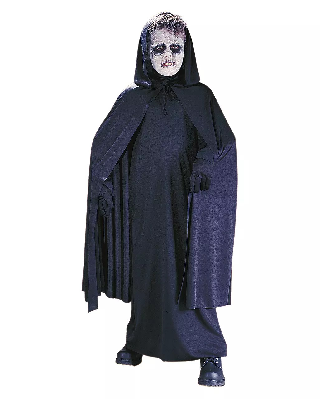 Halloween Kostuem Kinder Vampir Black Children S Cloak