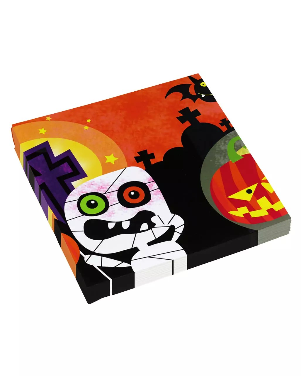 Halloween Gespenster Servietten Halloween Monster Servietten 20 Stück