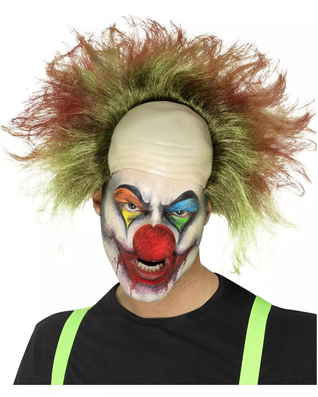 Wanddeko Clown Horror Clown Wig
