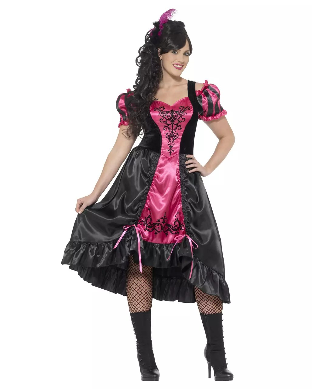 Halloween Kostüm Kinder Expressversand Sassy Girl Plus Size Burlesque Kleid