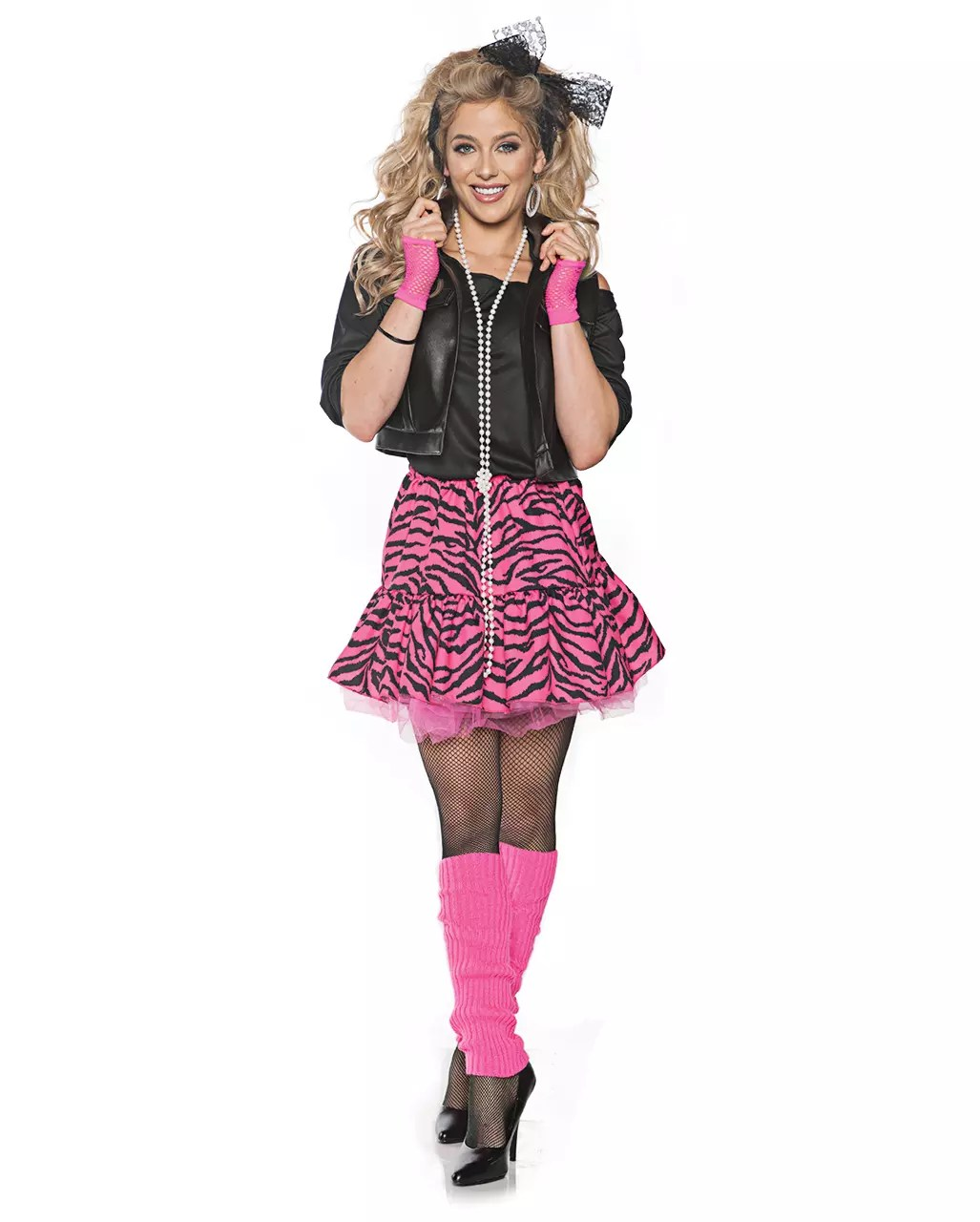 80iger Jahre Look 80s Pop Star Diva Costume