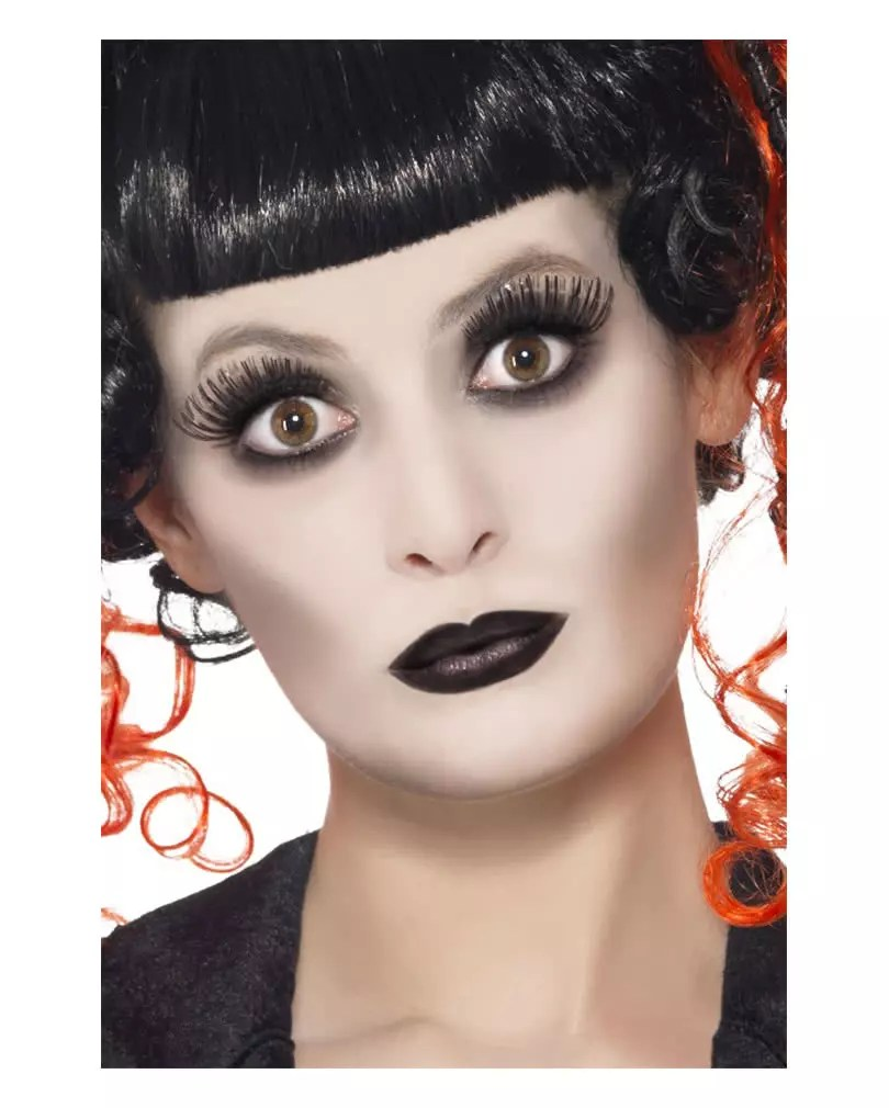 Halloween Make Up Anleitung Gothic Makeup Set