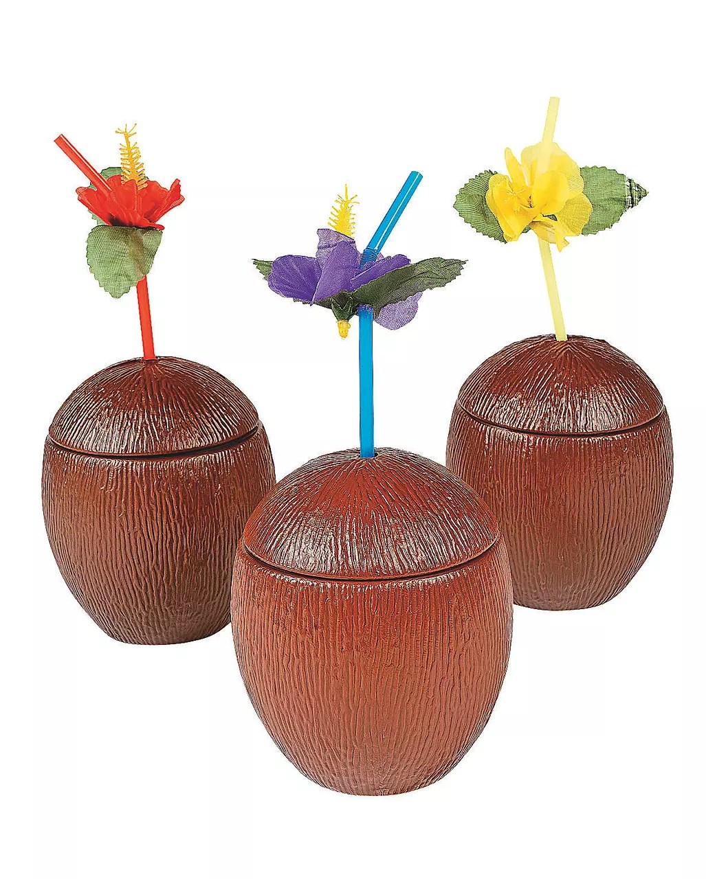 Cocktail Deko Coconut Cocktail Cup With Lid