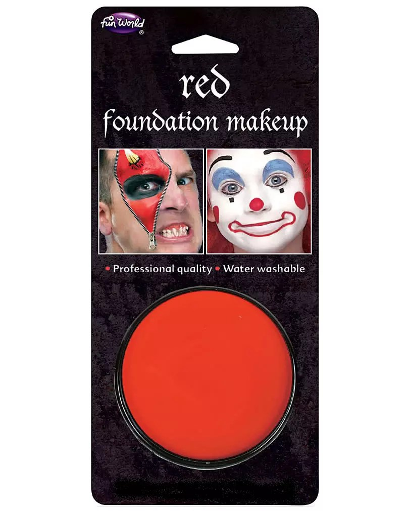 Basis Make Up Rot Clown Schminke Günstig Kaufen Horror Shop Com - Günstige Schminke