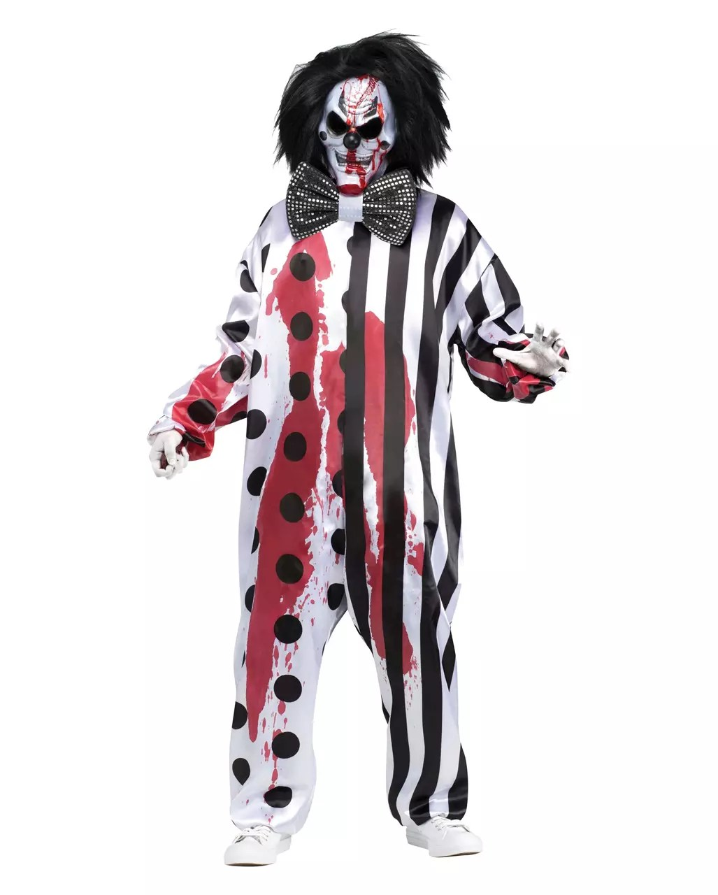 Wanddeko Clown Bleeding Clown Costume With Mask