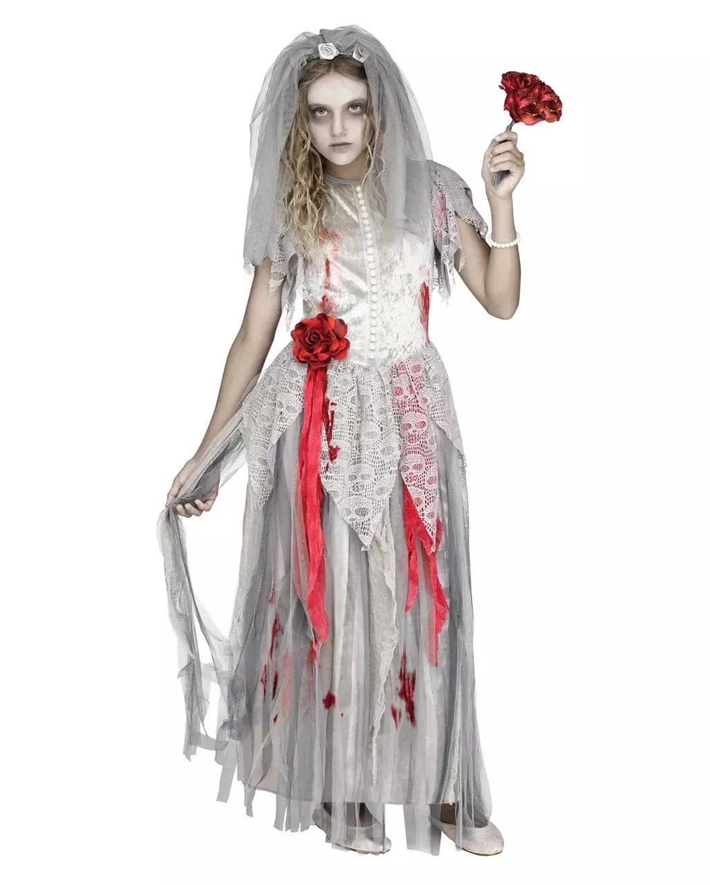 Zombie Kostüm Selber Machen Zombie Bride Children Costume Halloween Costume Horror