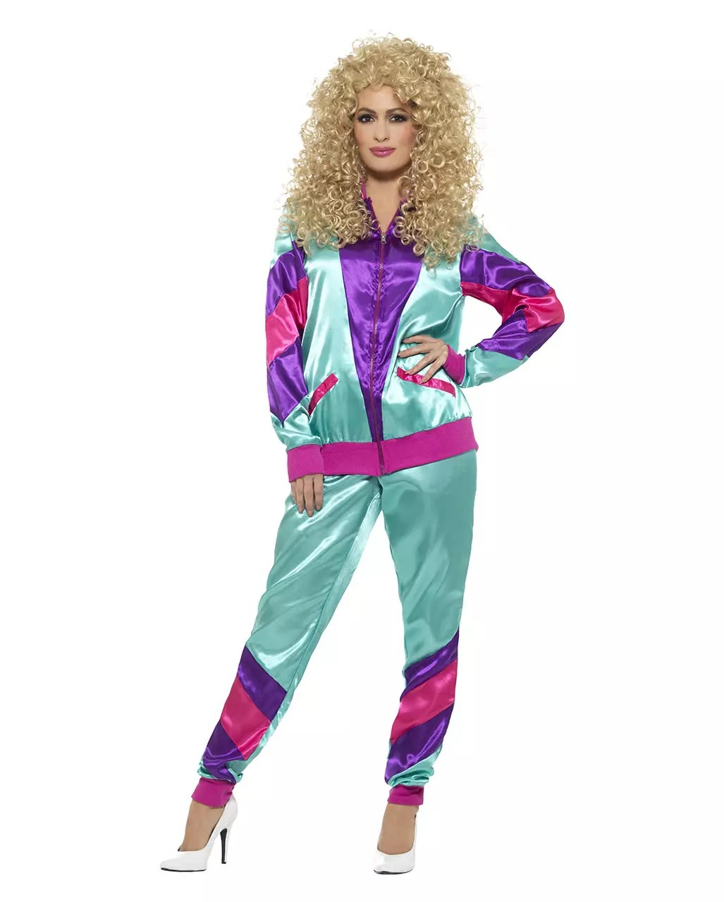 80iger Jahre Look 80s Jogging Suit Costume