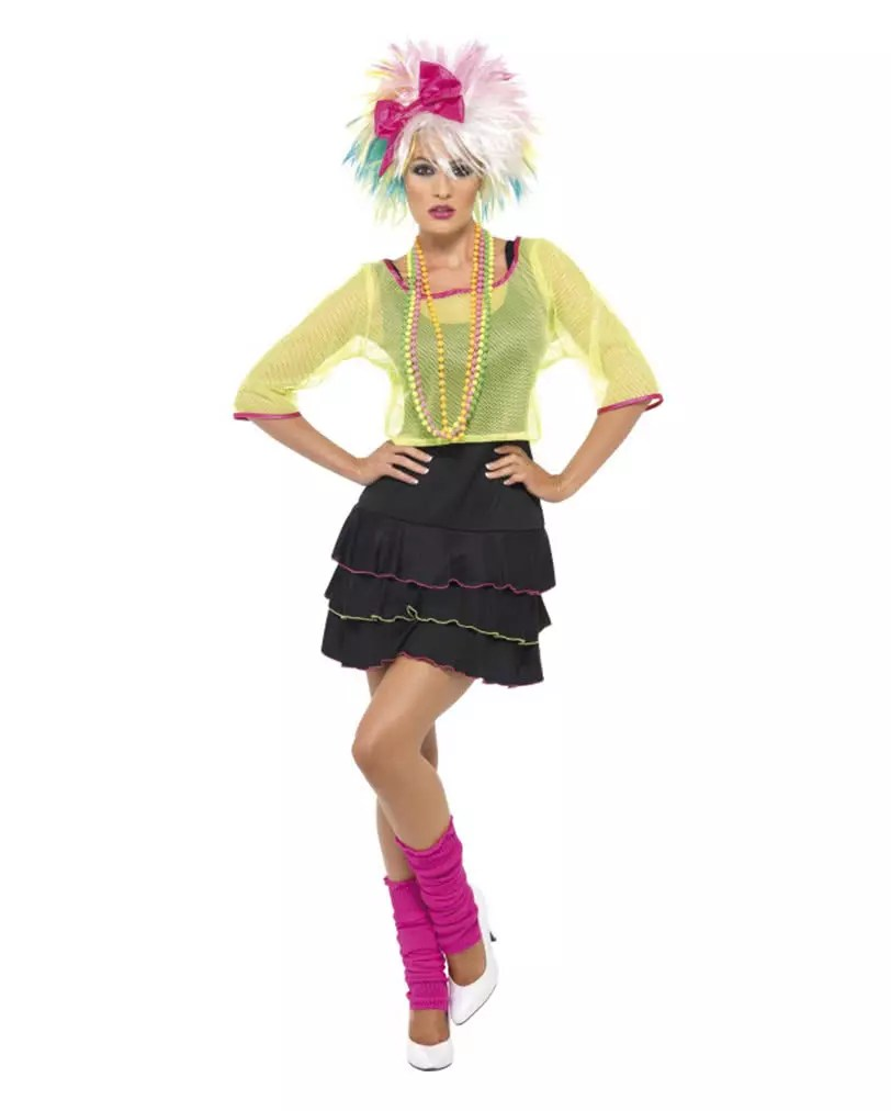 80iger Jahre Look 80s Disco Costume For Women