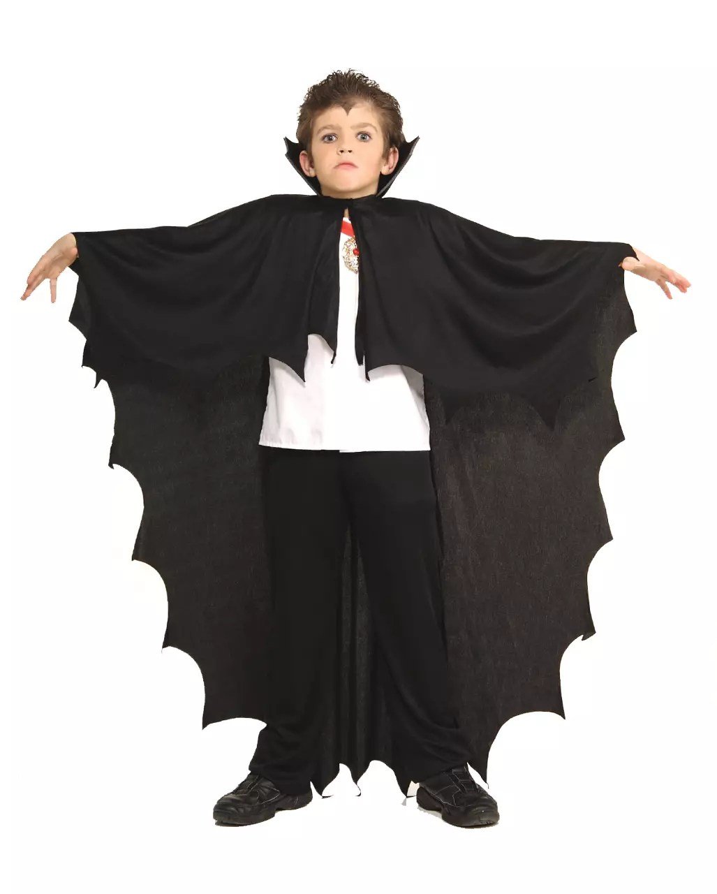 Cape Schwarz Dracula Cape Black Children