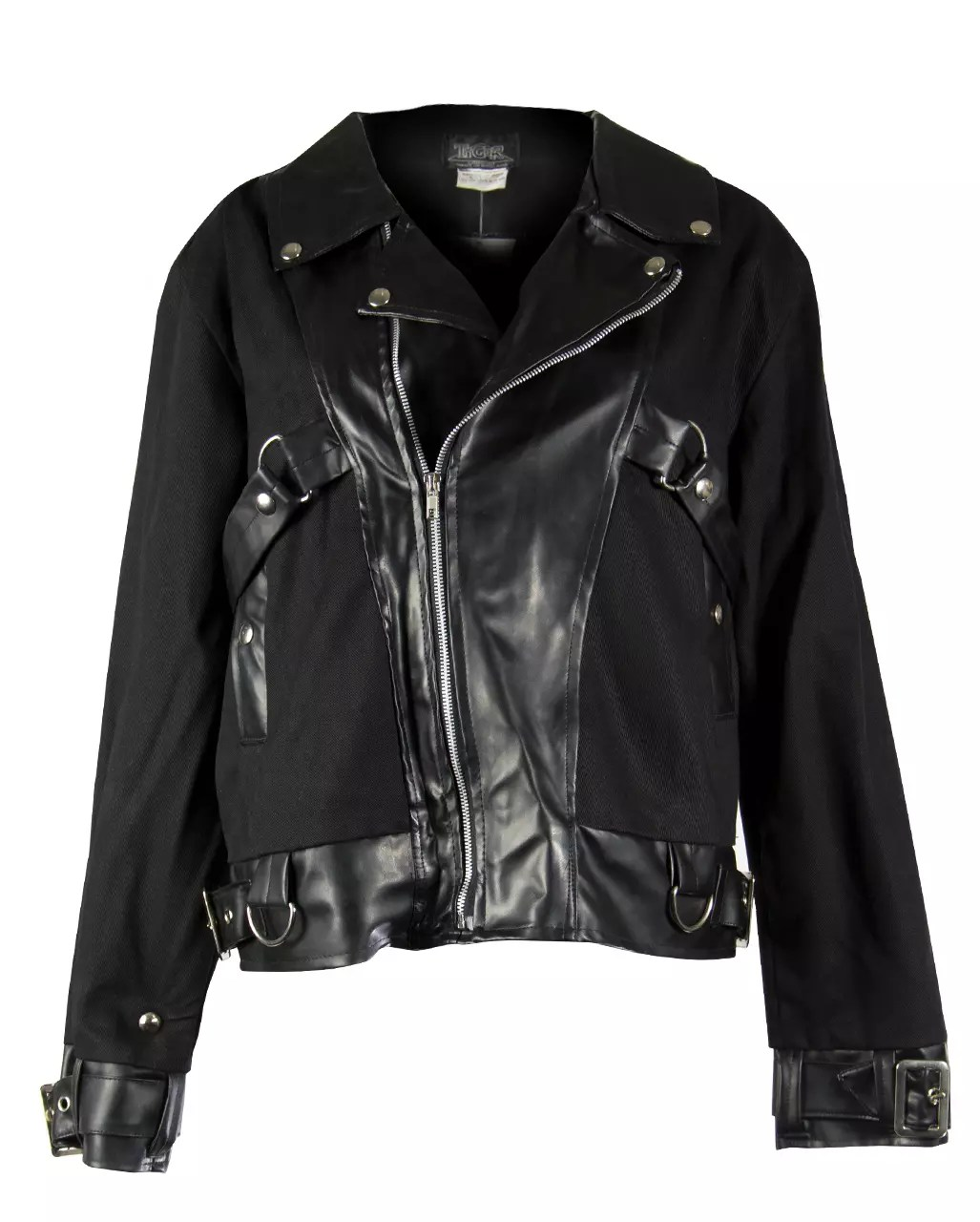 Cool Im Jacke Black Gothic Rocker Jacket