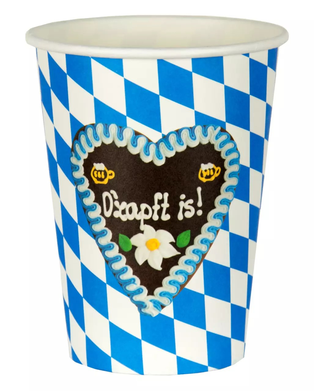 Oktoberfest Mottoparty Ozapft Is Oktoberfest Party Cup 8 Pcs