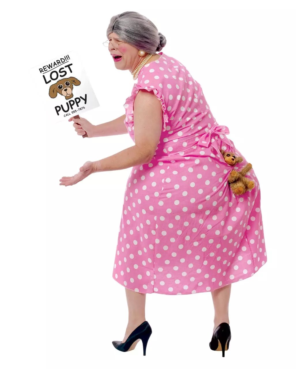 Dog Grandma Costume Lost Puppy Funny costumes Party