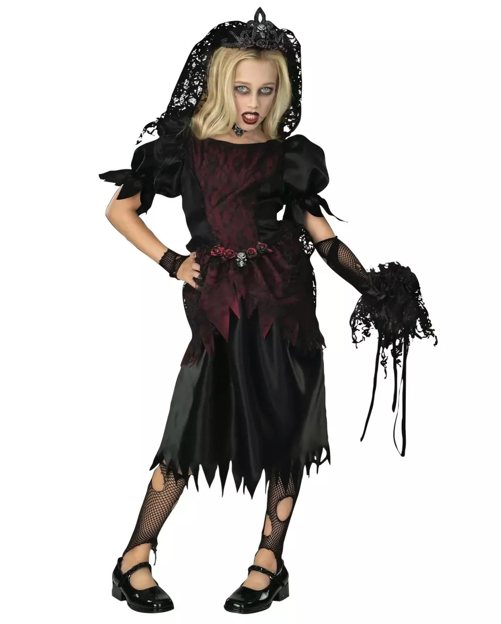 Halloween Kostuem Kinder Vampir Vampire Widow Child Costume