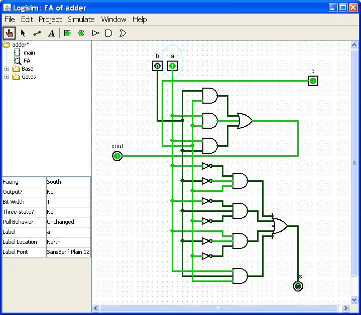 CS61CL Fall 2008 Lab 16 Boolean Logic