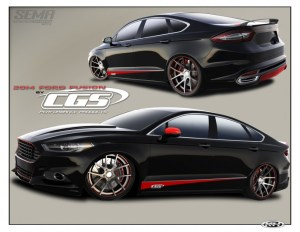 2014-Ford-Fusion-SE-by-DSO-Eyewear-for-2013-SEMA-sketch-1-685x530