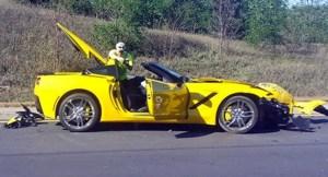 Corvette-Crash