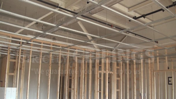 Install Drywall Suspended Ceiling Grid Systems - Drop Ceilings