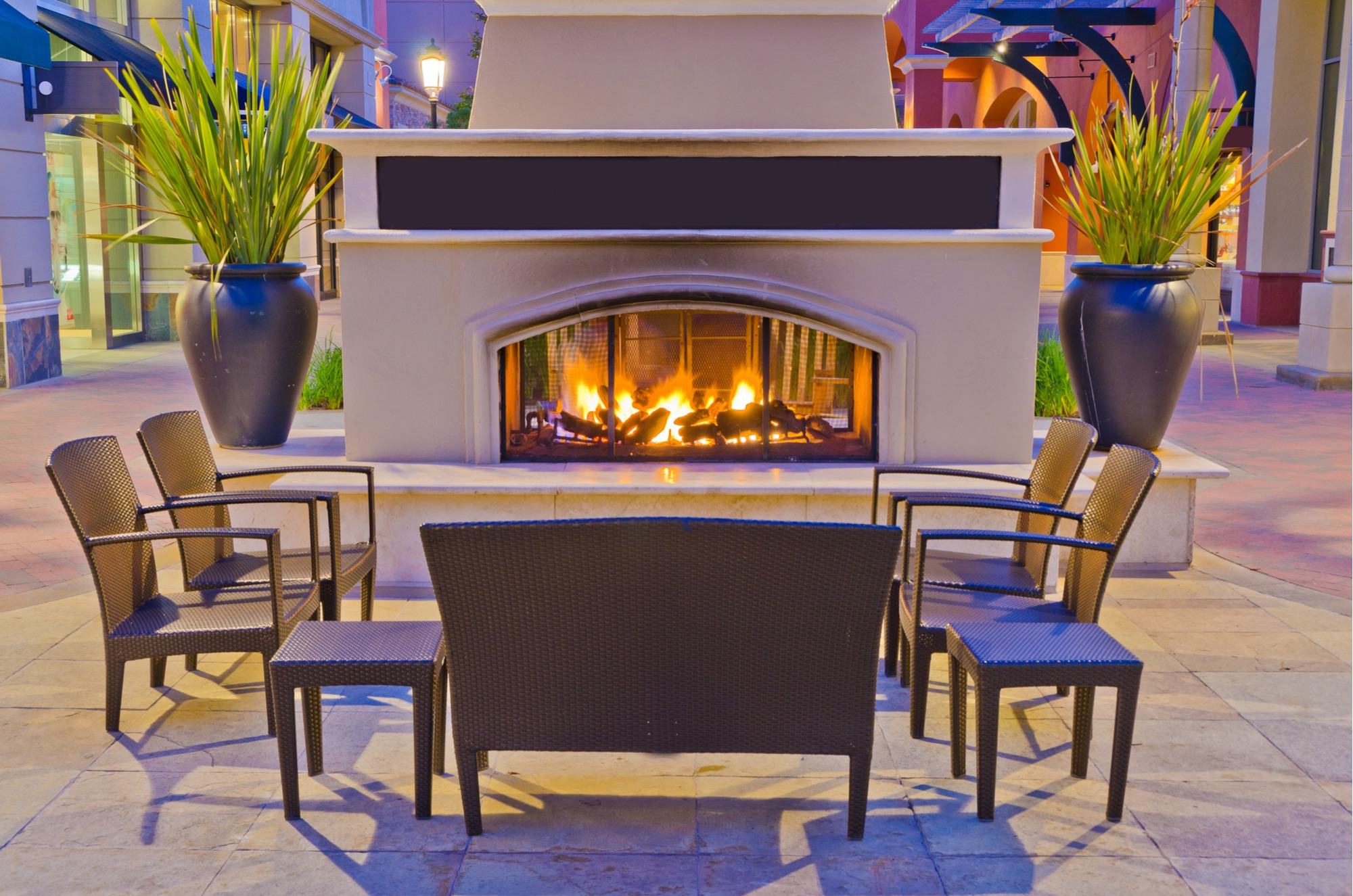 Outdoor Fireplace Materials Outdoor Fireplace Safety Guide Install It Direct