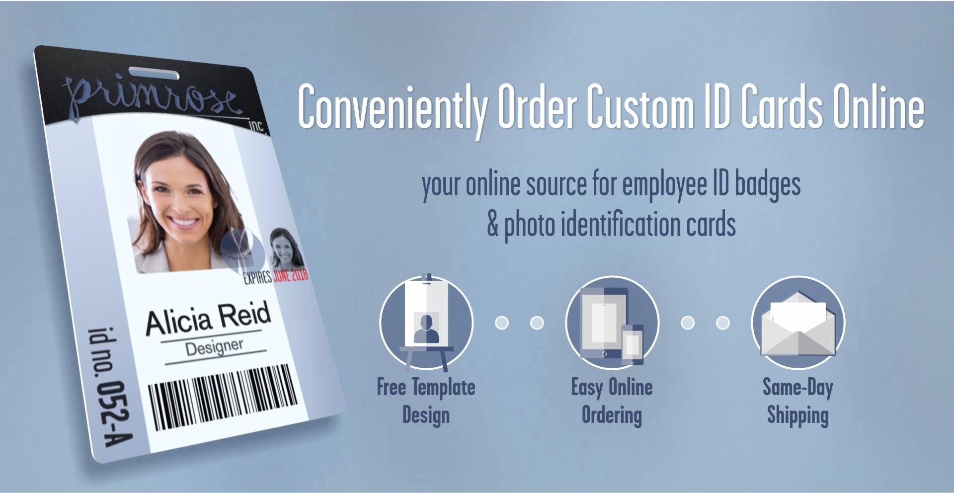 employee id badge template