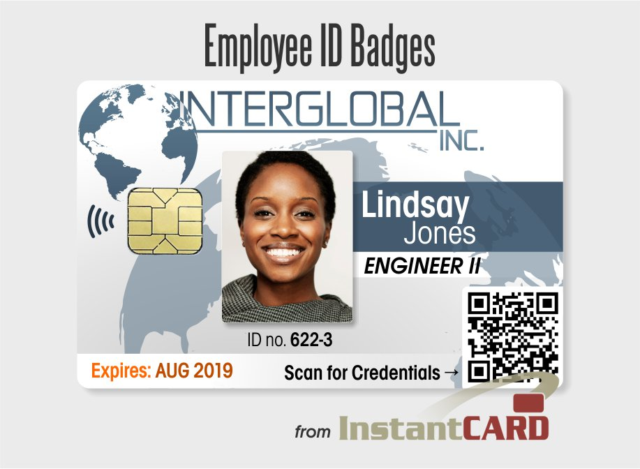 free employee badges template