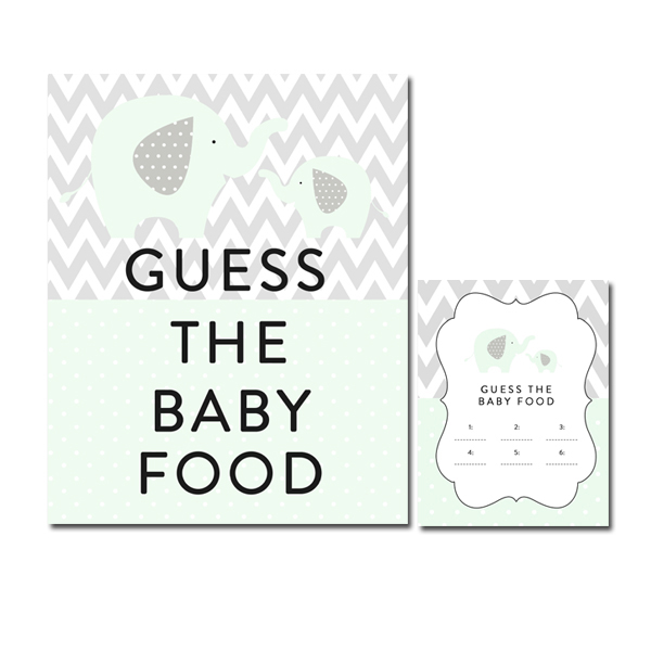 photo relating to Guess the Baby Food Game Free Printable identify Kid Food items Video game Printable. bet the child food stuff - boy little one