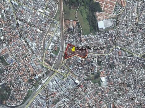 Parque Ciras - Localização na Malha Urbana de Itapevi-SP
