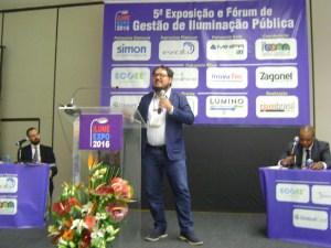 Miguel Axcar palestra sobre gestão de Iluminação Pública de Rio Claro (SP)