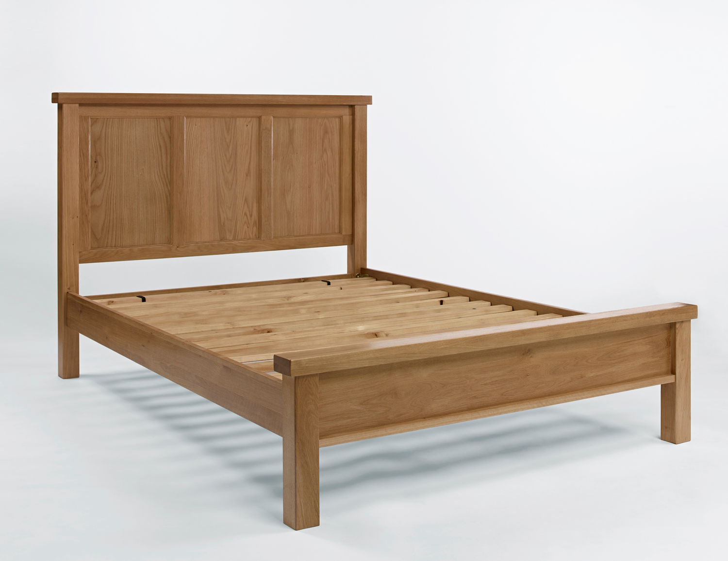 4ft Double Bed Size Loxley Oak King Size Bed
