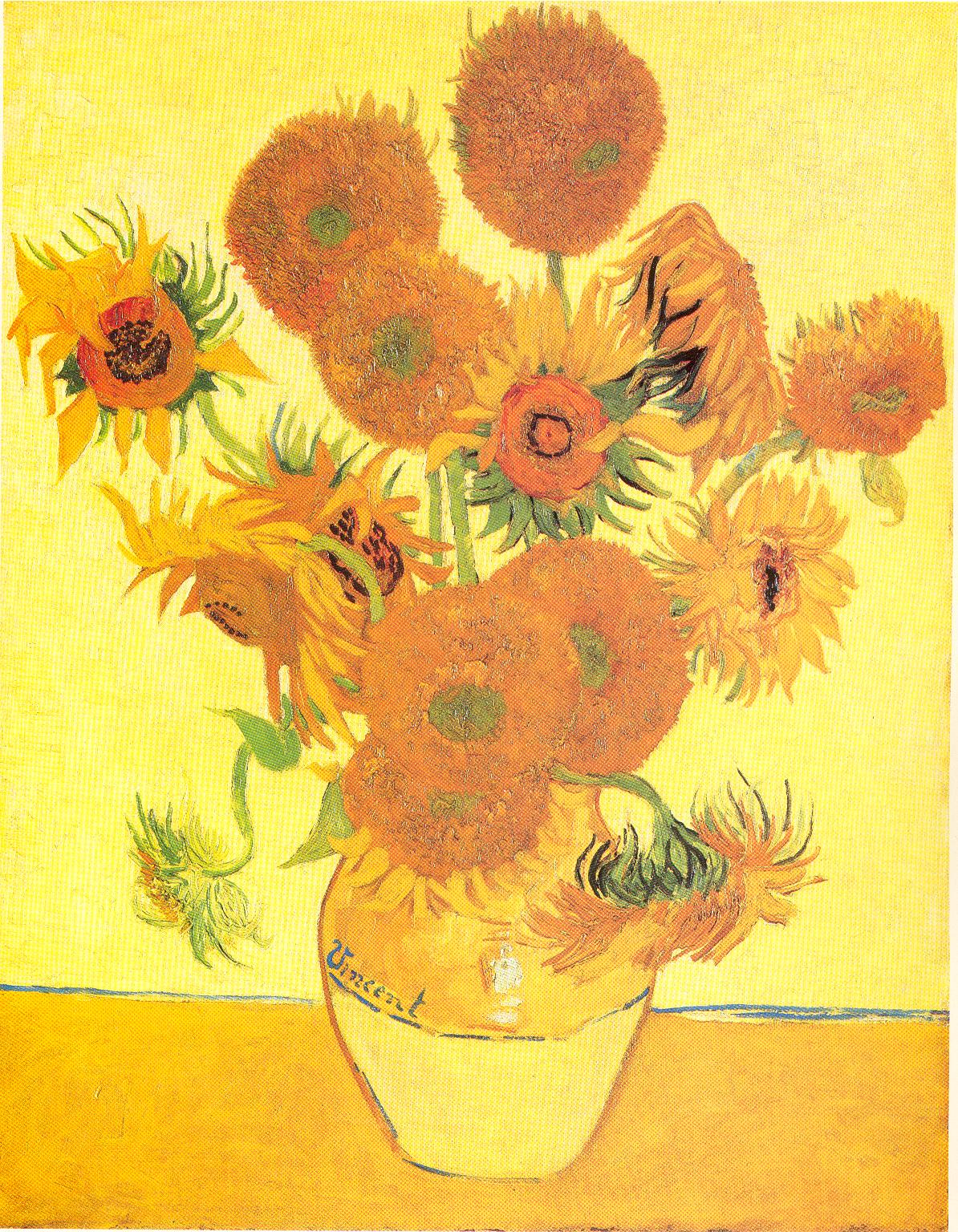 Vincent Van Gogh Paintings Sunflowers Lust For Letters A Complete Edition Of Vincent Van Gogh 39s