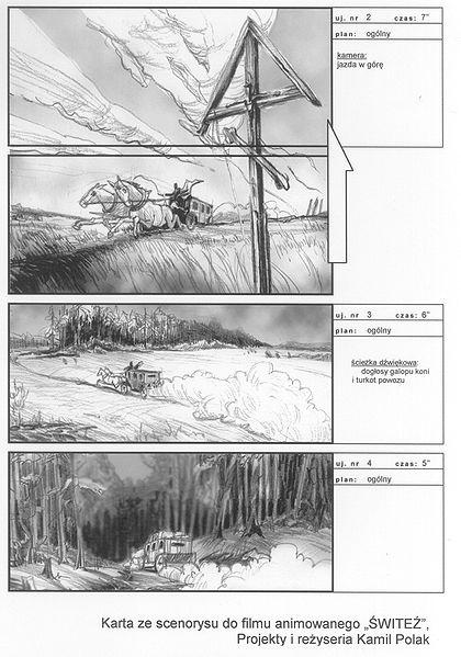 Film Storyboards - Design Templates