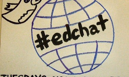 Display an #EdChat in your Faculty Lounge