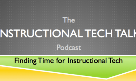 002 – Finding Time for Instructional Tech