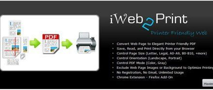 Convert Web Pages to PDF Files