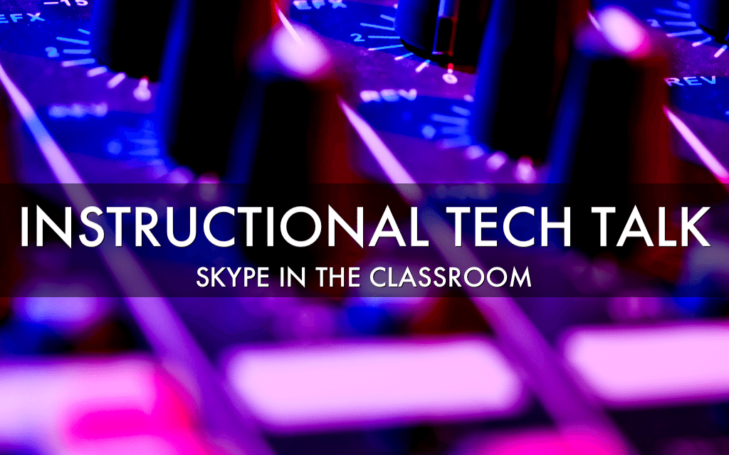016 – Skype in the classroom