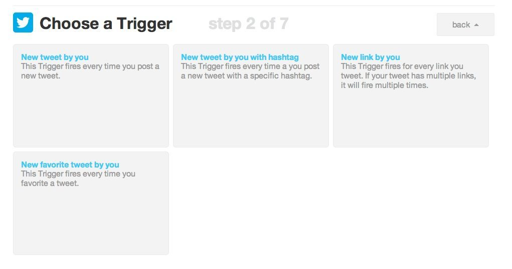 Twitter Triggers Released for IFTTT