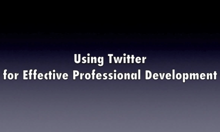 Resource: Twitter for Professional Development Video
