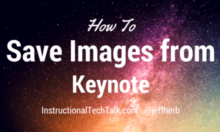How To Save Images From Keynote