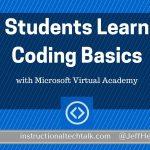 Students Learn Coding Basics with Microsoft Virtual Academy