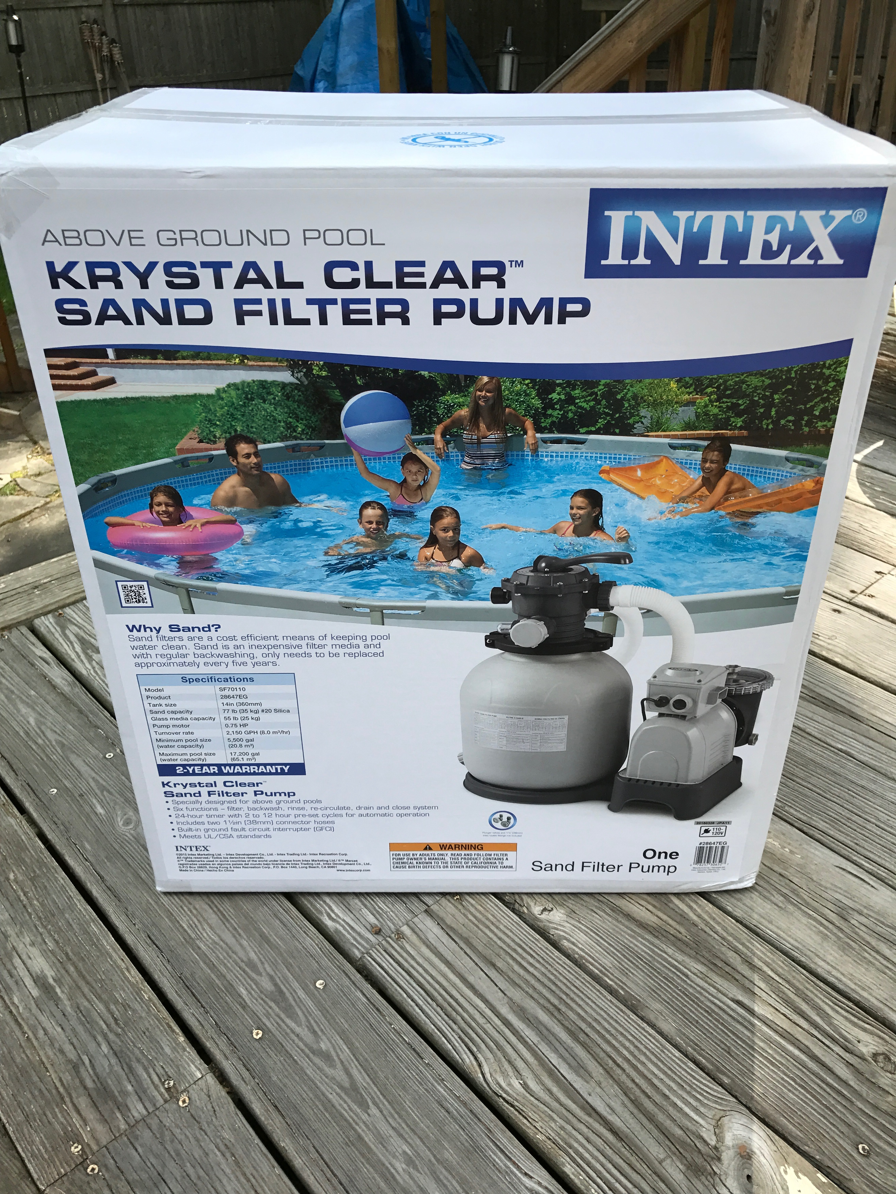Intex Pool Pump Youtube Polygroup Summer Waves Pool Filter Upgrade To Intex Sand Filter 2800