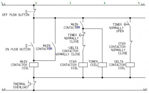 Star Delta Starter Working Principle - Electrical Machines
