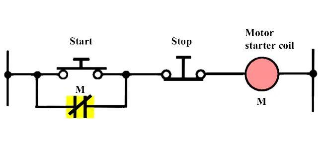 relay seal in circuit