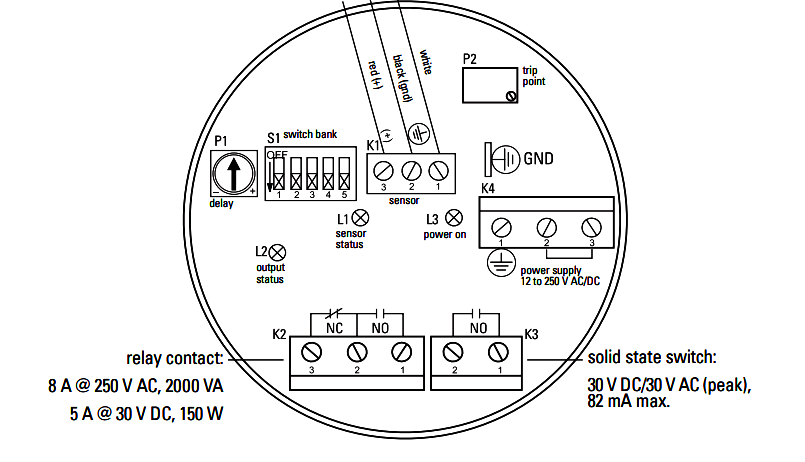green led switch wiring
