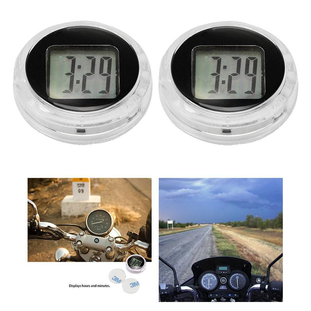 Digital Clock For Sale Details About Mini Waterproof Motorcycle Digital Clock Watch W Stick Motorbike Time Sale