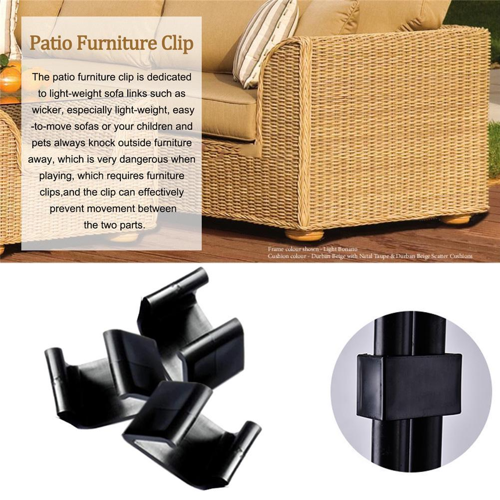 Rattan Furniture Clips Sofa Rattan Connector Sectional Chair Fastners Clip Ebay
