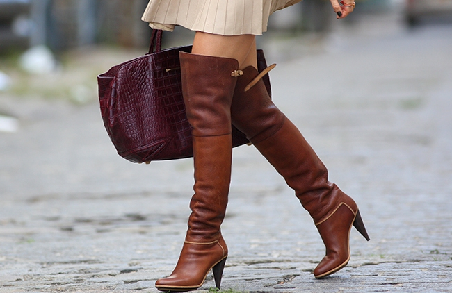 Over Knee Boots The Trend For Winter 2015 Instyle