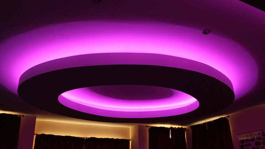 Drop Ceiling Lighting Residential Led Lighting - Renovated Farmhouse Project