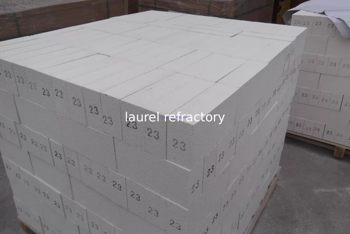 Refractory Brick Lighter Weight Mullite Insulating Fire Brick Refractory For Flue