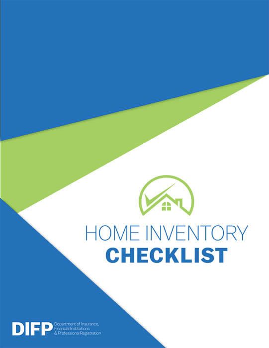 Home Inventory Checklist Missouri Department of Insurance