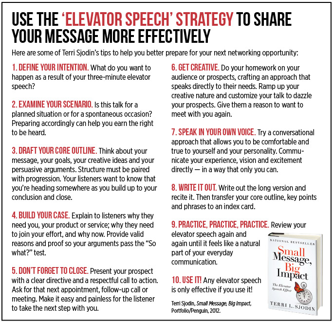 Elevator Speech For Sales - Multi-Use Elevator Pitch Examples for