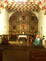 Mission Delores altar